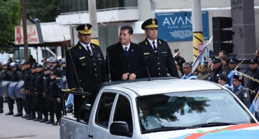 La policía provincial festejó sus 428 años