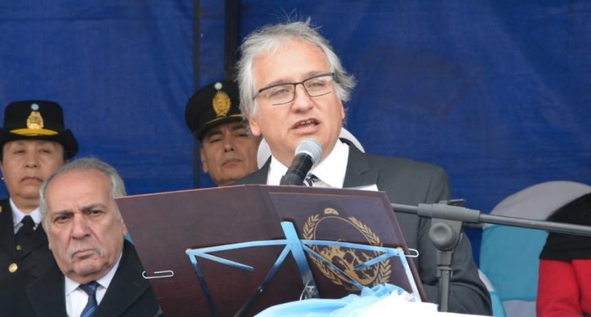Bosetti pidió que el espíritu patrio permita lograr un destino de grandeza para Argentina