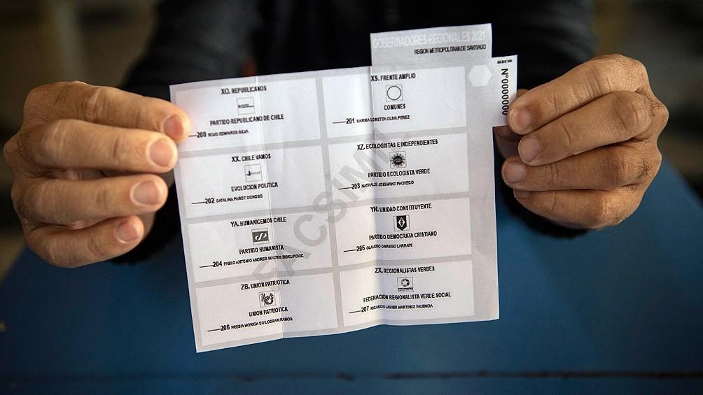 Con escasa participación se cumplió la primera jornada de las elecciones en Chile