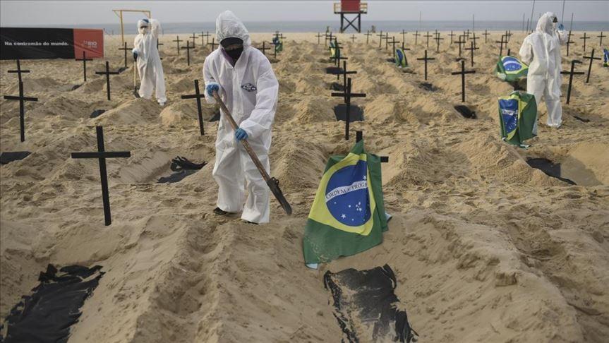 Brasil superó los 450.000 muertos y se teme a una tercera ola