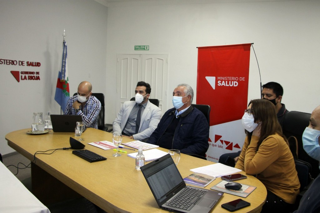 La Rioja presentó ante el COFESA la situación epidemiológica provincial