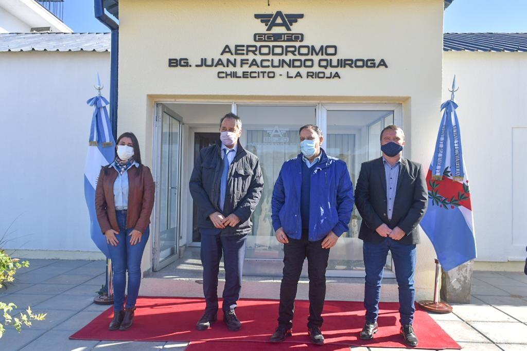 Quintela recibió al embajador Daniel Scioli