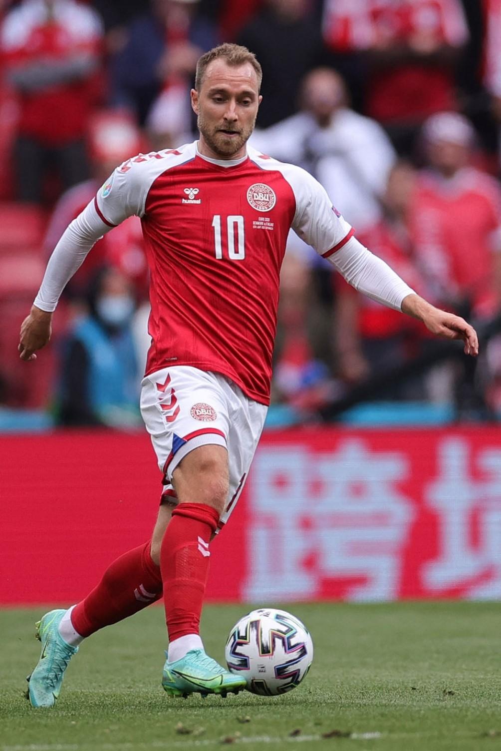 El jugador danés Christian Eriksen  se desplomó en un partido de la Eurocopa y recibió reanimación cardíaca