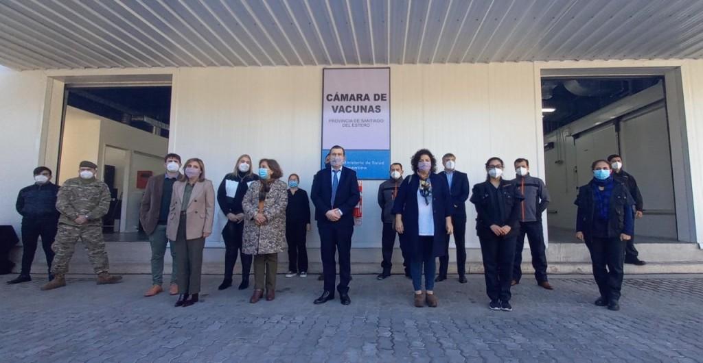 Inauguraron Centro de Almacenamiento de Vacunas en Santiago del Estero