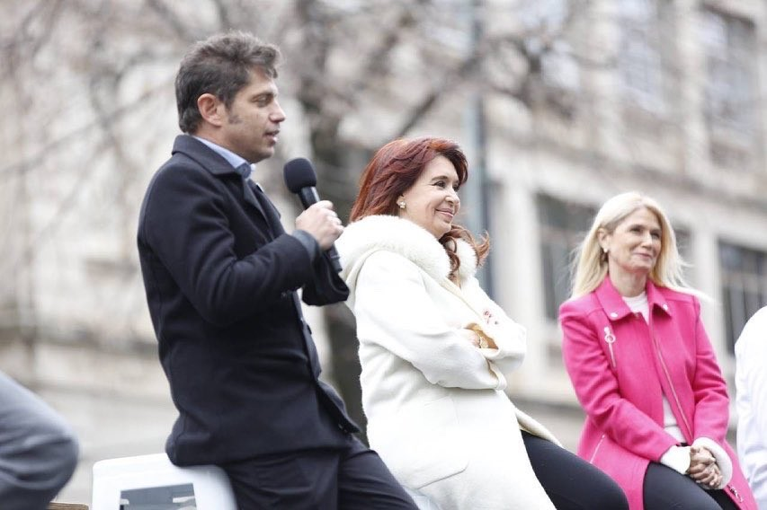 Cristina Fernández pidió