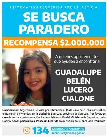 Siguen buscando a Guadalupe con más personal y una recompensa de dos millones de pesos