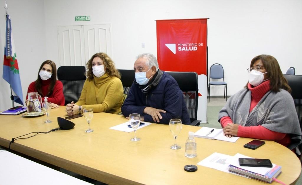 Vergara participó de la presentación del proyecto de ley para jerarquizar y mejorar la calidad de formación de la enfermería
