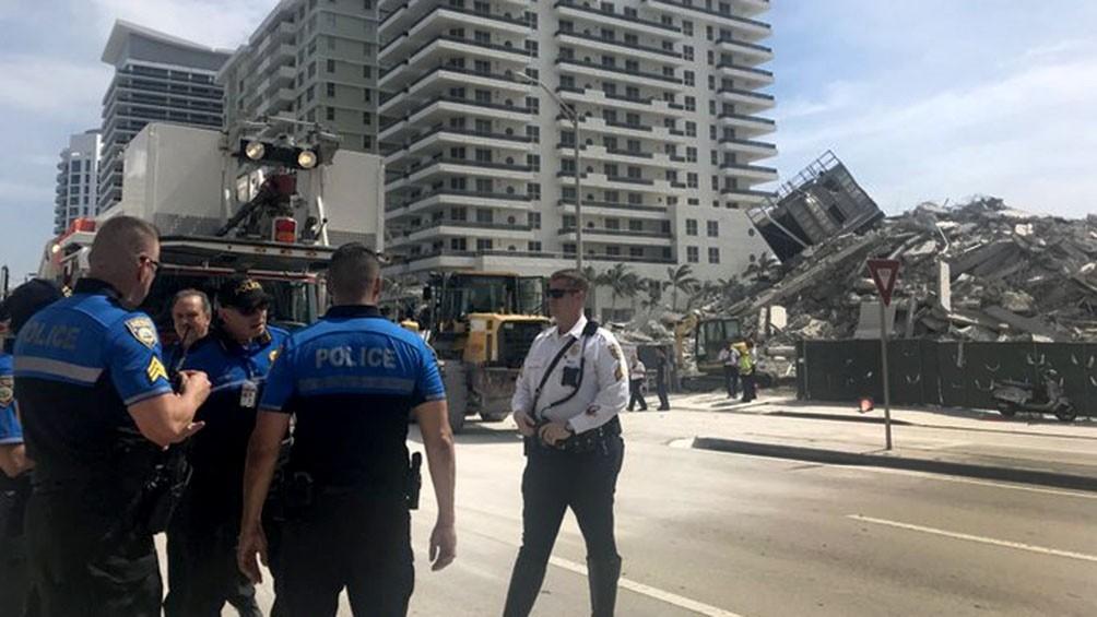 Encuentran con vida a uno de los 10 argentinos desaparecidos por el derrumbe en Miami