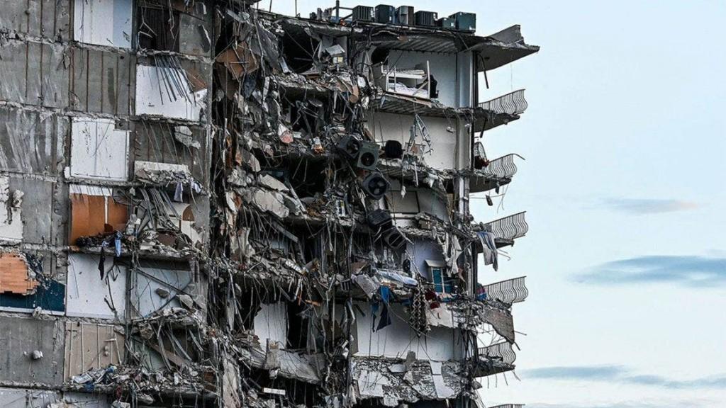 Derrumbe en Miami: el edificio tenía