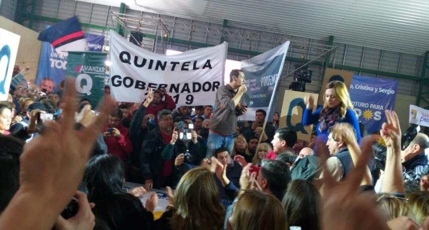 El peronismo riojano se mostró unido en apoyo a la fórmula Fernández - Fernández
