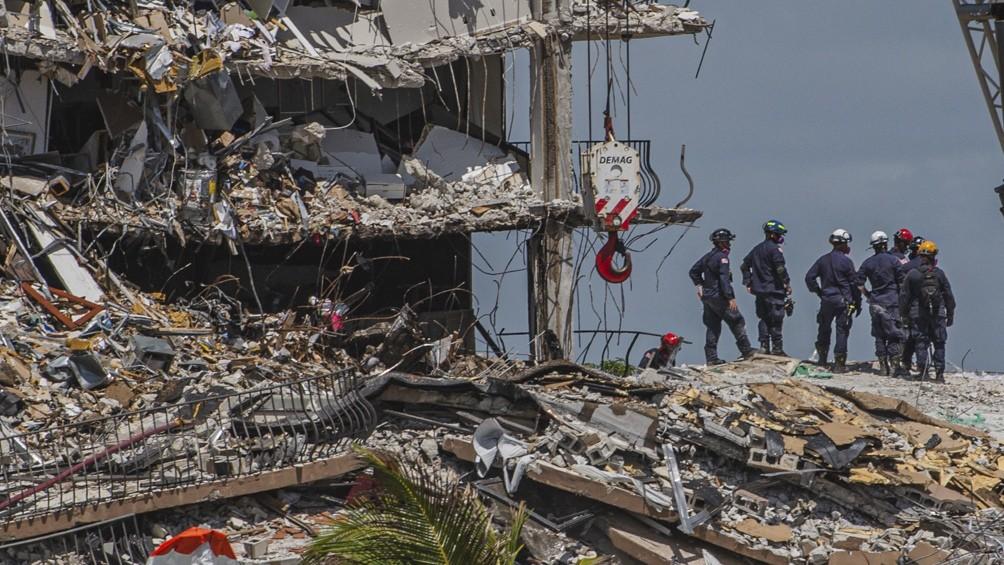 Derrumbe en Miami: Rescatan sin vida a una niña, hija de una argentina
