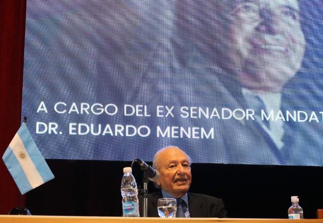 """Presentaron el libro """"Los Noventa. La Argentina de Menem"""""""