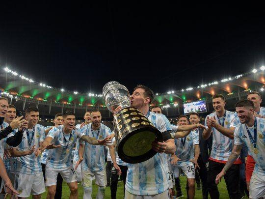 Luego de 28 años, Argentina gritó campeón de la Copa América