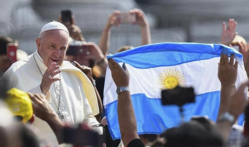 El Papa está alegre por los triunfos de Argentina e Italia en la Copa América y Eurocopa