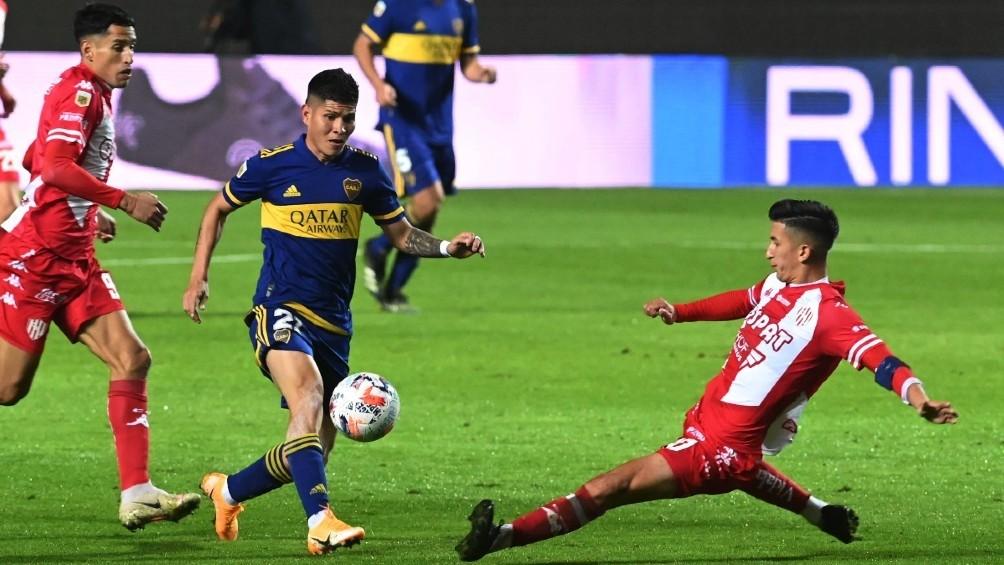 Unión rescató un empate ante Boca Juniors