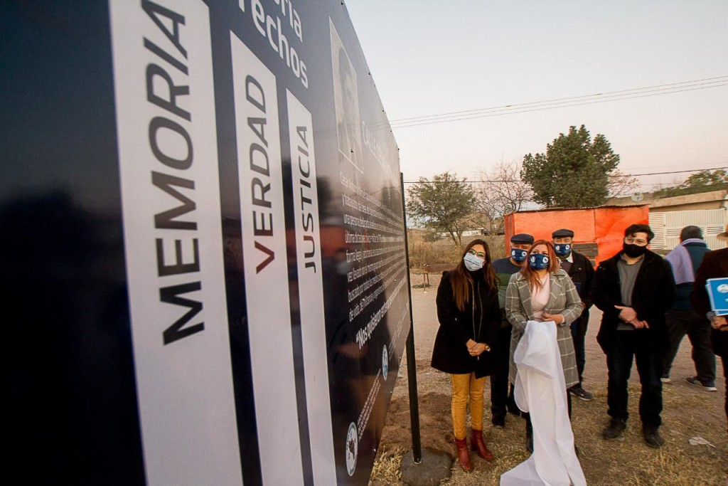 Rinden homenaje a los riojanos desaparecidos