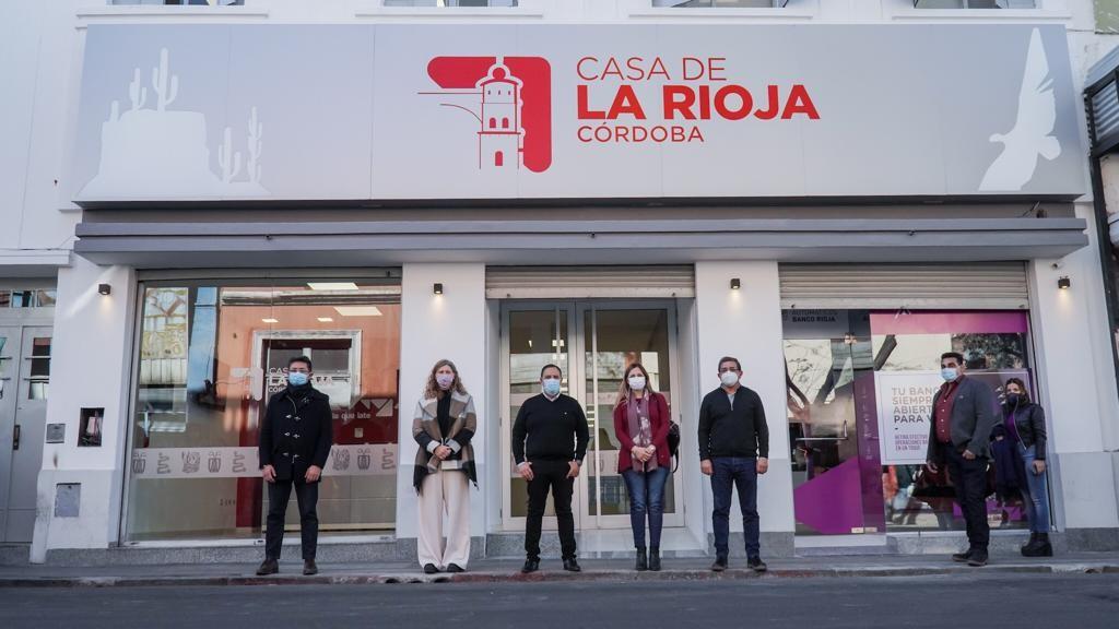 El gobernador visitó la Casa de La Rioja en Córdoba que será inaugurada próximamente