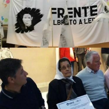Calderón acompañó lanzamiento de Frente Estudiantil