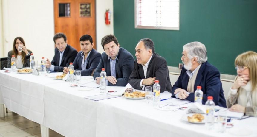 Industriales se reunieron con funcionario nacional