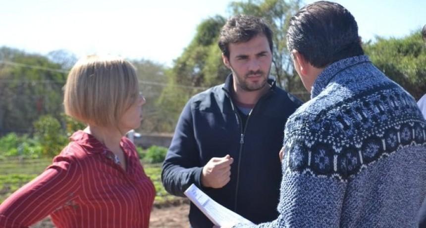 Santander visitó la fundación