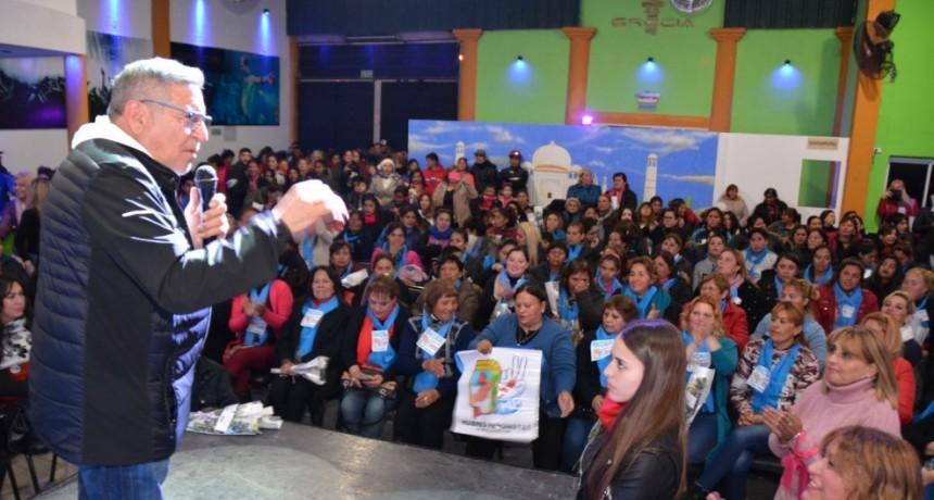 Beder Herrera se reunió con mujeres justicialistas