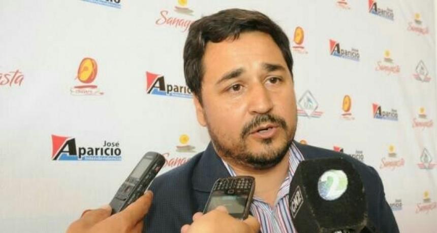 """José Aparicio: """"los peronistas construimos entre todos"""""""