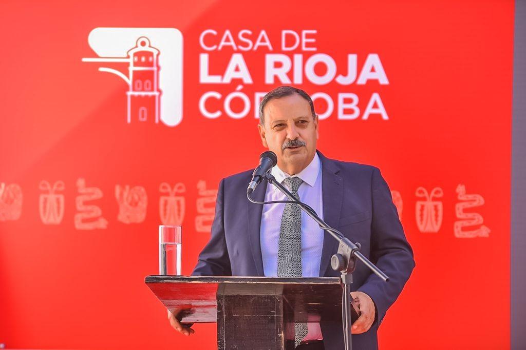 Quintela inauguró la Casa de La Rioja en Córdoba