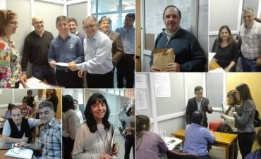Calderón-Gaspanello y Alvarez-Matzkin se inscribieron para las elecciones en la UNLaR