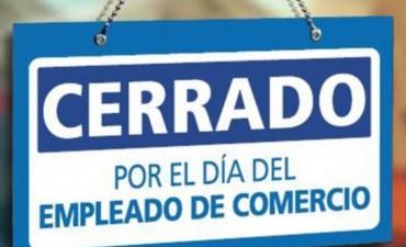 Dia del Empleado de Comercio: Este lunes la actividad será casi nula en los comercios riojanos