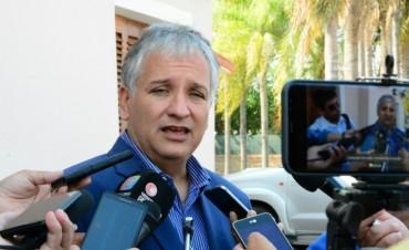 Bosetti aseguró que sin los fondos compensatorios se afecta el normal funcionamiento de la provincia