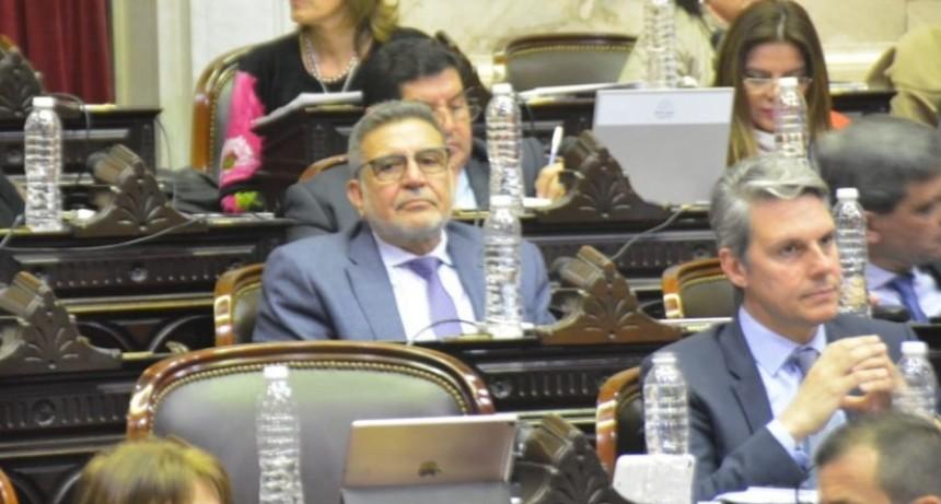 Beder Herrera apoyó con su voto la sanción de la Ley de Emergencia Alimentaria