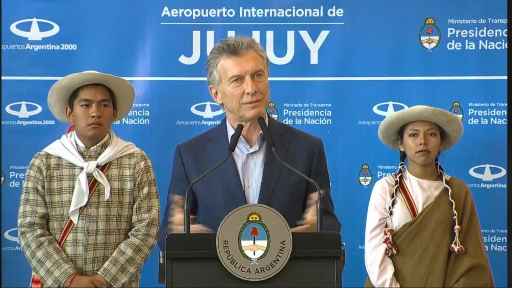 Macri pidió que la obra pública no sea
