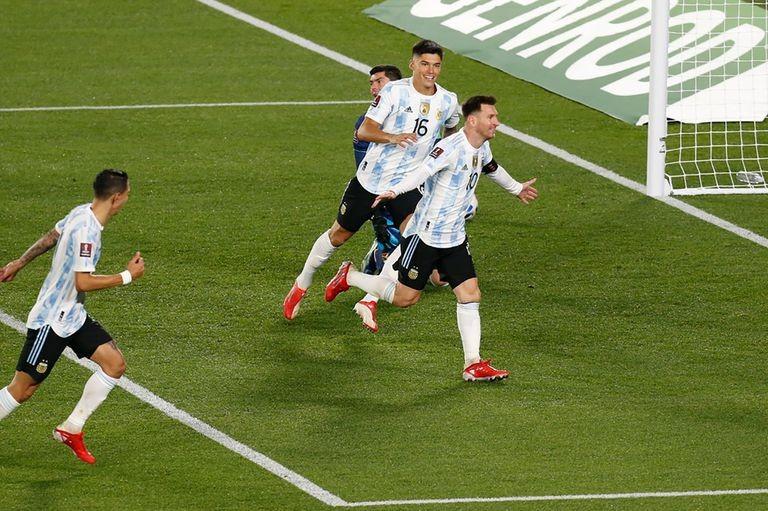 Argentina, goleó a Bolivia