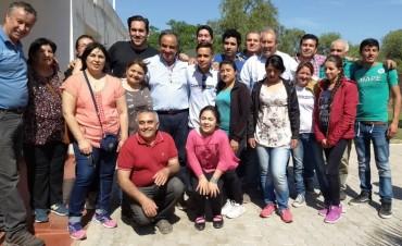 Julio Martínez anunció la reactivación de la obra de la Ruta 79