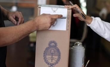 Similar porcentaje de votantes a las PASO