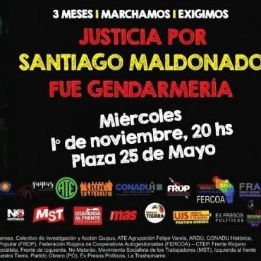 Convocan a marchar reclamando justicia por Santiago Maldonado