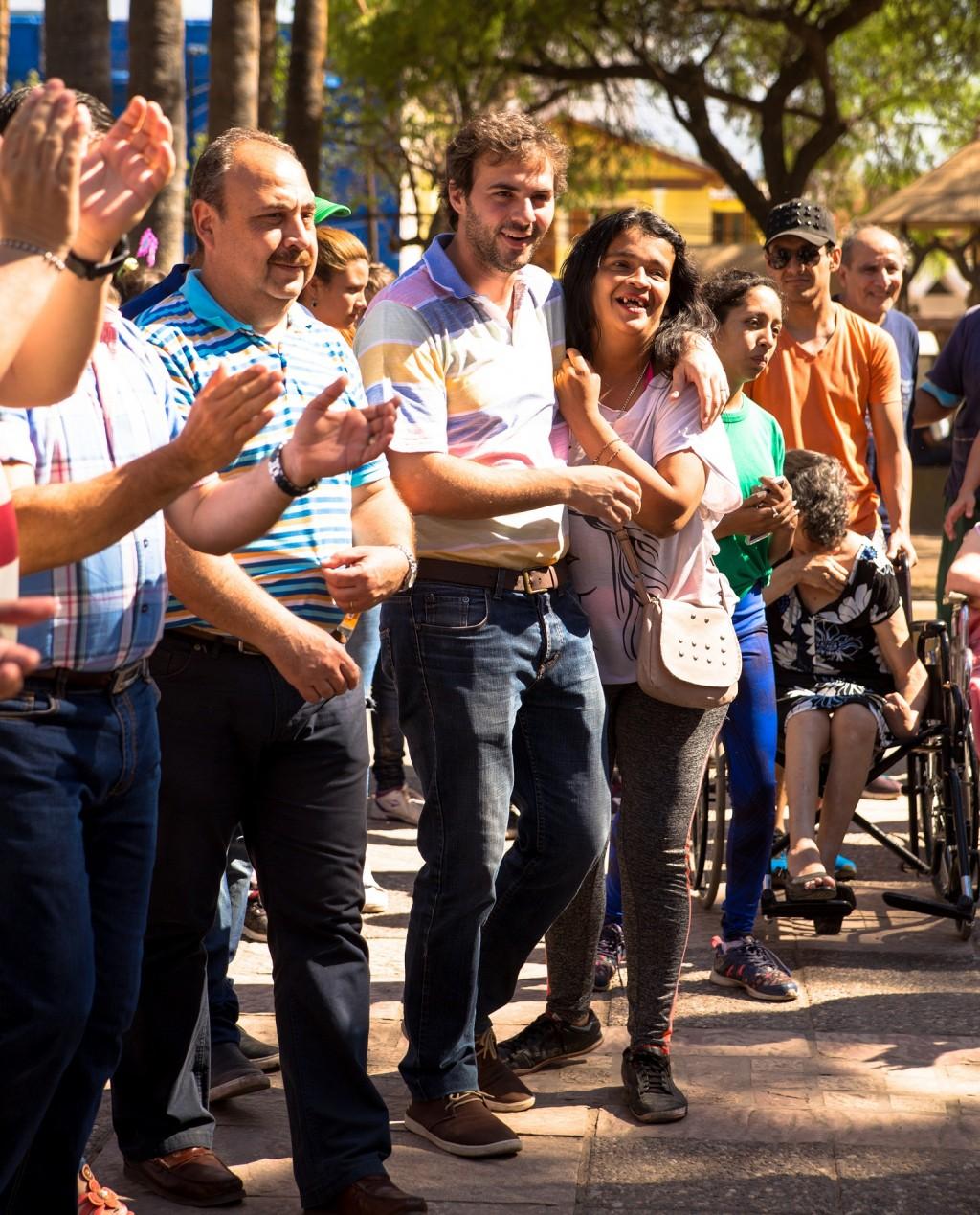 """Santander participó del cierre de la campaña por el """"Buentrato"""" hacia los adultos mayores"""