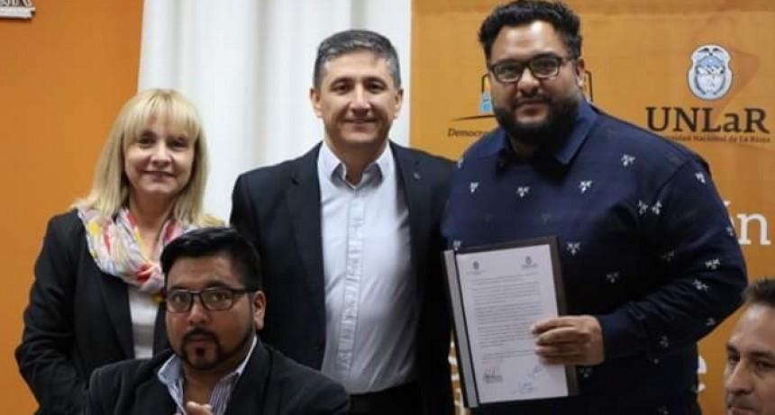 Municipio y UNLaR firmaron convenio para mayor inclusión