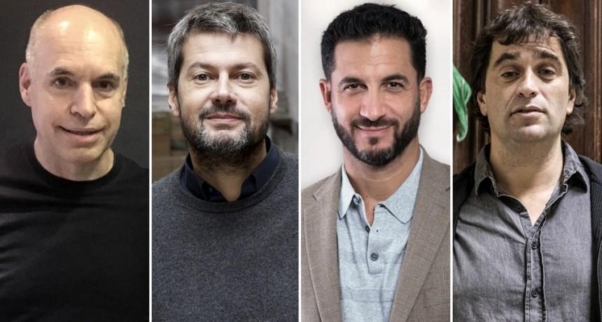 Los candidatos a jefe de Gobierno debaten sin repreguntas ni interrupciones