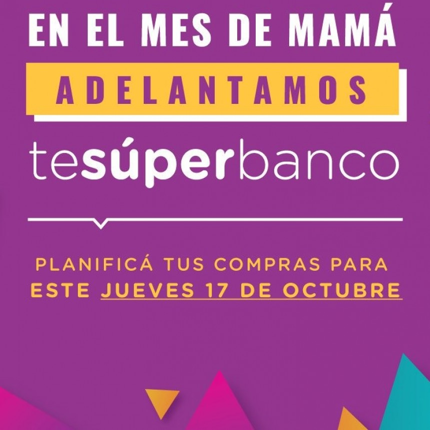 Te Superbanco especial por el