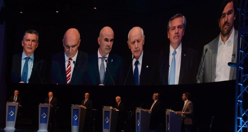 Los seis candidatos presidenciales vuelven a debatir mañana, esta vez en la UBA