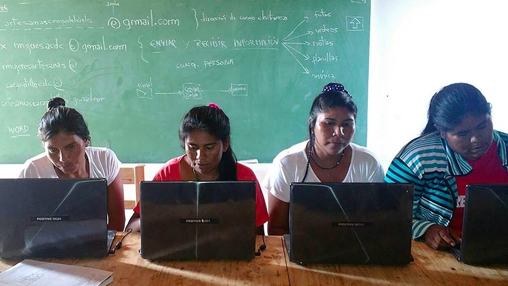 Mujeres chaqueñas usan la tecnología para enfrentar el cambio climático