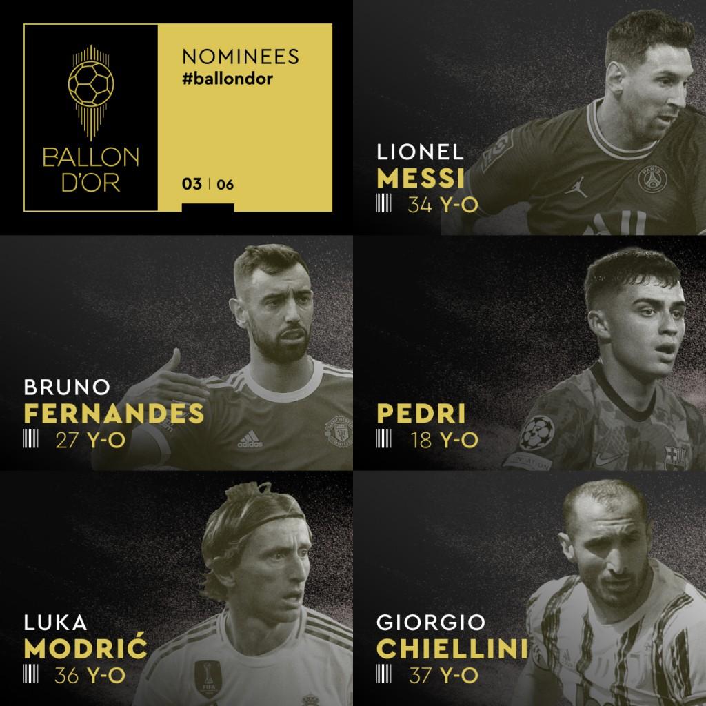 Lionel Messi y Lautaro Martínez, nominados al Balón de Oro