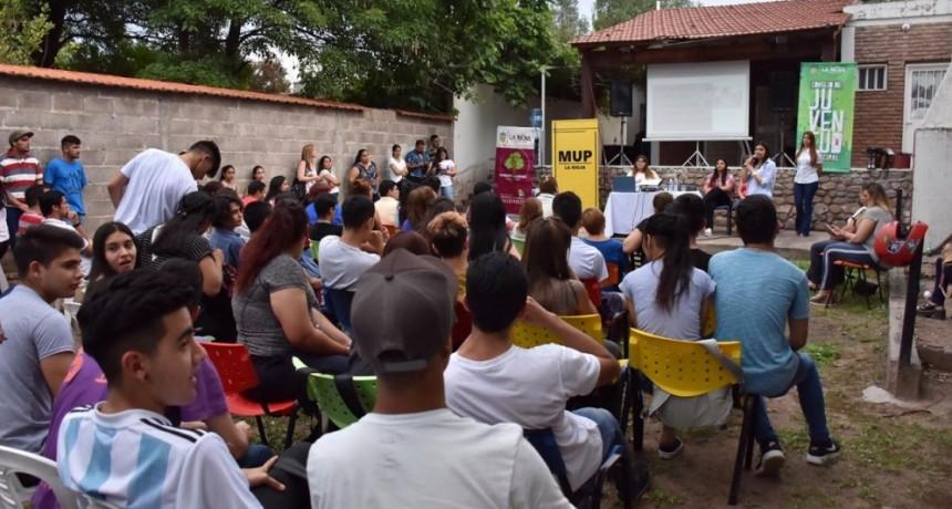 2° Charla de la escuela de formación política para jóvenes