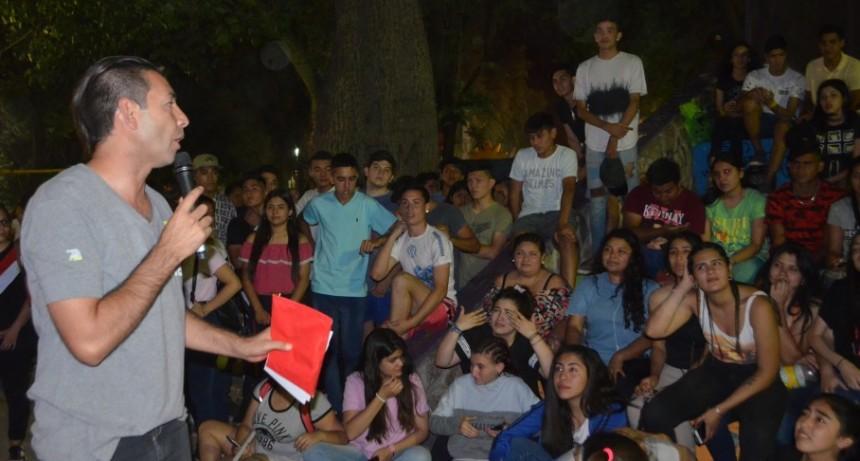 Estudiantina 2018 tuvo su cierre en la plaza Facundo Quiroga