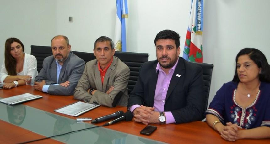 El municipio colocará mobiliario urbano
