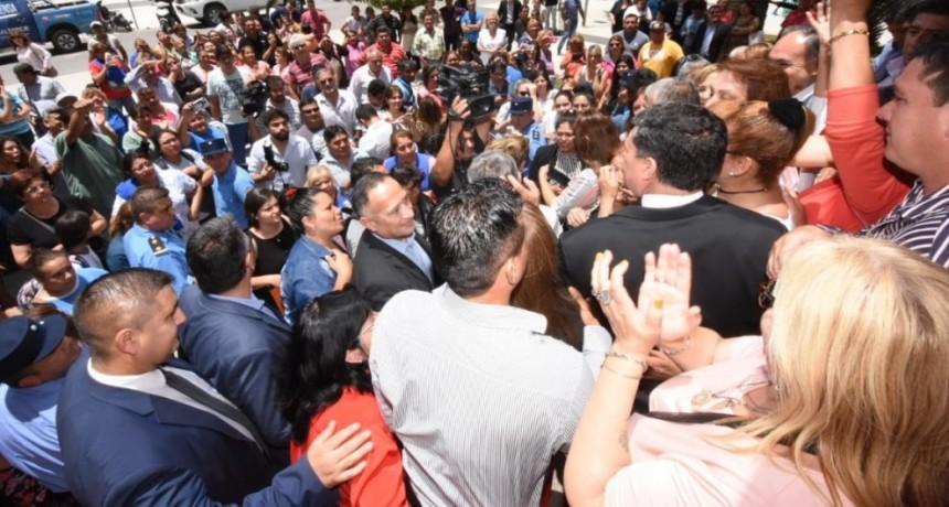 Trabajadores PIL celebraron la promesa cumplida del gobernador