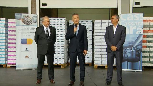 Macri presentó un nuevo convenio con PAMI y prometió remedios más baratos