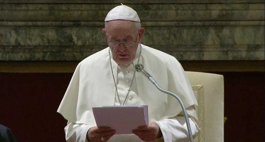 Francisco criticó el uso arbitrario de la prisión preventiva y el
