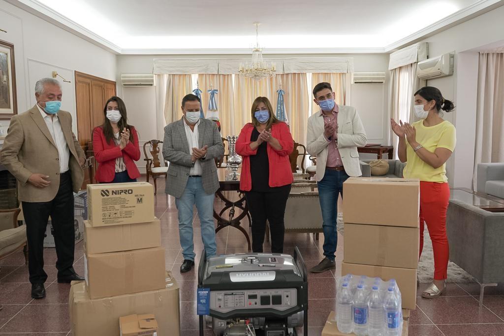 Gobierno refuerza al Hospital Gregorio Chávez de Malanzán